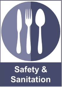 Graphic Link to Safety and Sanitation Resources